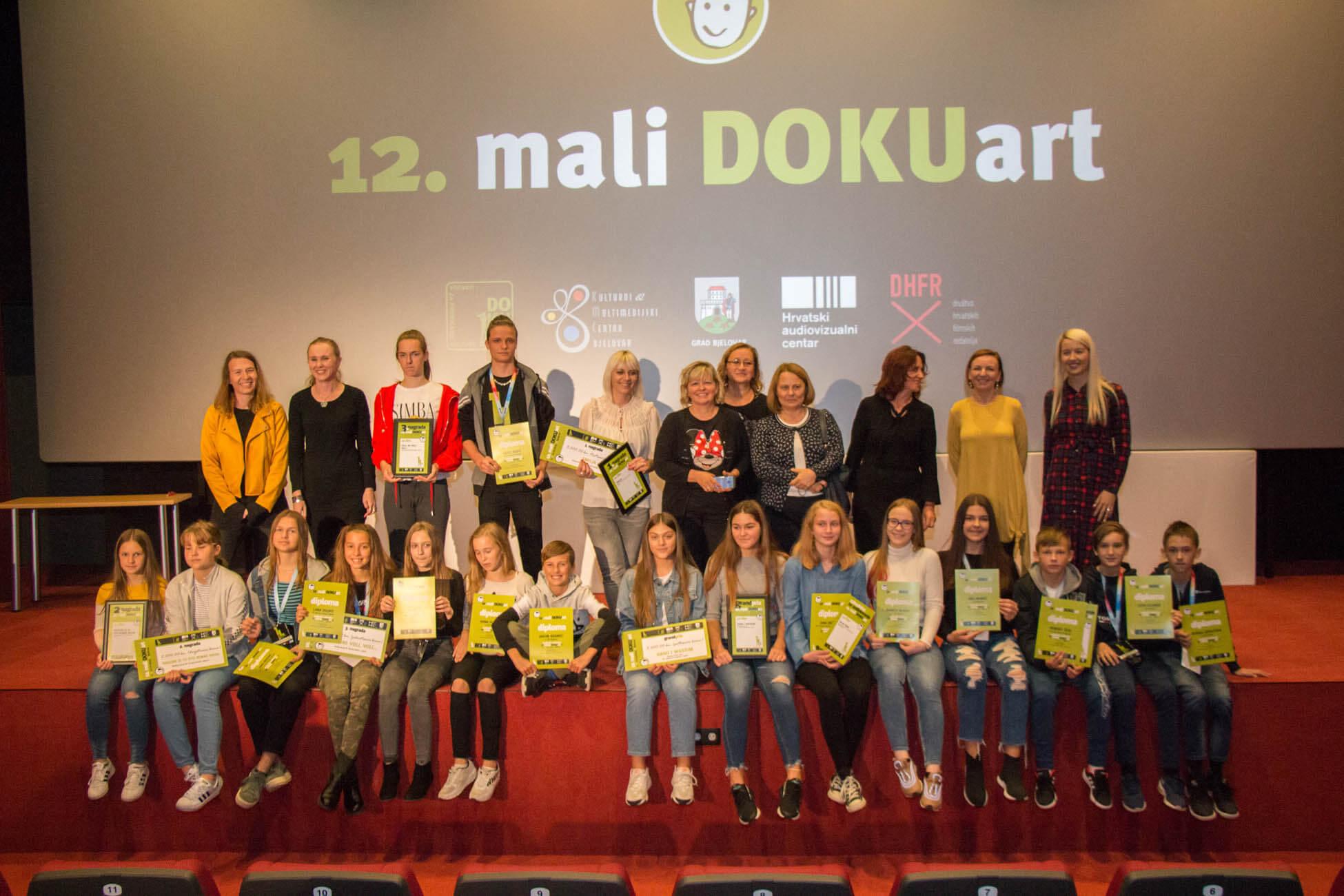 Natječaj za najbolji dokumentarac osnovnoškolaca na Malom DOKUartu u Bjelovaru